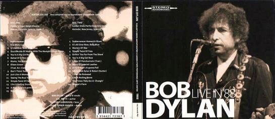 Bob Dylan Live In '88 Raz Records Label