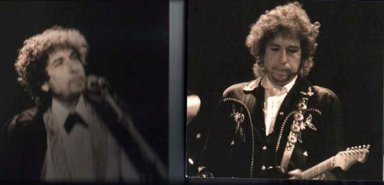 Bob Dylan Live In '88 (inside panels) Raz Records Label