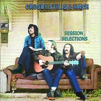 Crosby, Stills & Nash Session Selections Aurora Borealis Label