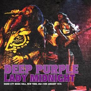 Deep Purple Lady Midnight Darker Than Blue Label
