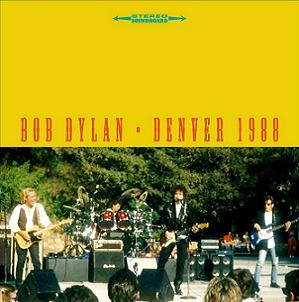Bob Dylan Denver 1988 Scorpio Label