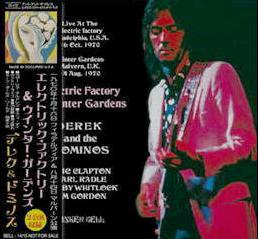 Derek & The Dominos Electric Factory Tinkerbell Label