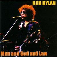 Bob Dylan Man & God & Law Thinman Records Label