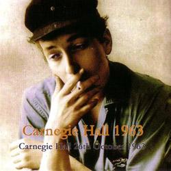 Bob Dylan Carnegie Hall No Label copy