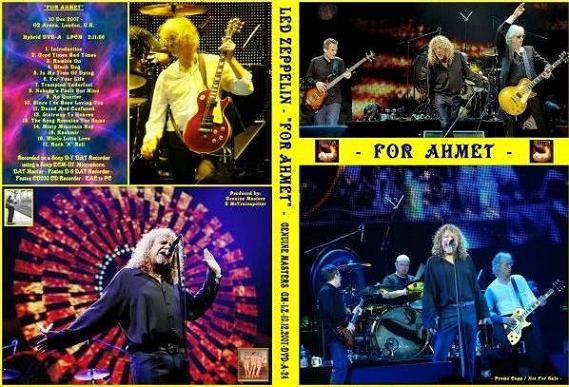 Led Zeppelin For Ahmet Hybrid-DVD Audio Genuine Masters Label