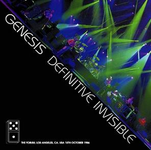 Genesis Definitive Invisible Virtuoso Label