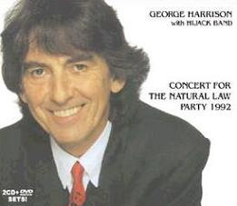 George Harrison with Hijack Band Concert For Natural Law Party 1992 Misterclaudel Label