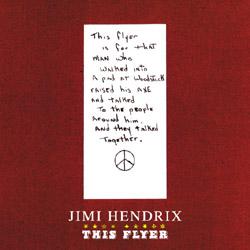 Jimi Hendrix This Flyer Scorpio Label
