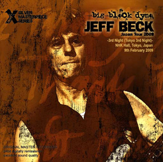 Jeff Beck Big Block Dyno Xavel Silver Masterpieces Label