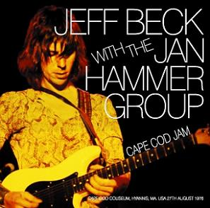 Jeff Beck with Jan Hammer Cape Cod Jam Wardour Label