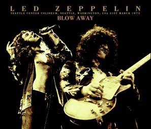 Led Zeppelin Blow Away No Label