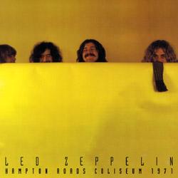 Led Zeppelin Hampton Roads 1971 Scorpio Label