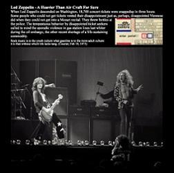 Led Zeppelin Heavy Zeppelin - insert - TCOLZ Label