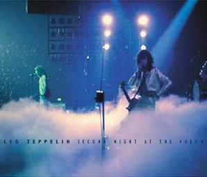 Led Zeppelin The Second Night Scorpio Label