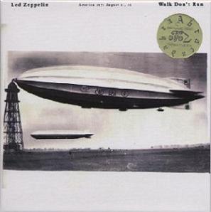 Led Zeppelin Walk Don't Run Tarantura Label