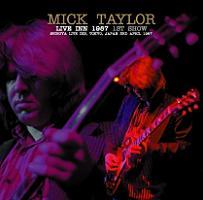 Mick Taylor Live Inn 1987 1st Show No Label
