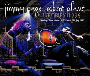 Jimmy Page & Robert Plant Wembley July 26, 1995 No Label