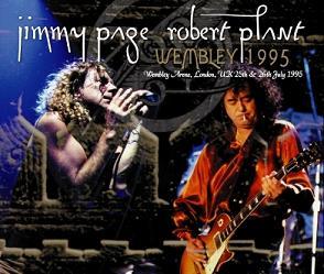Jimmy Page & Robert Plant Wembley July 25, 1995 No Label