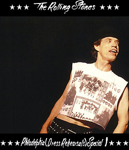 The Rolling Stones Philadelphia Dress Rehearsals 1 SODD Label