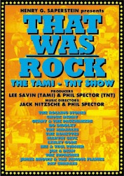 Various Artists 'That Was Rock' Tami Show DVD Hercules Label