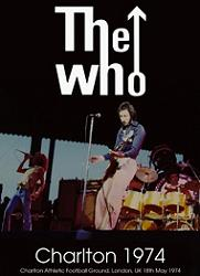 The Who Charlton 1974 DVD No Label