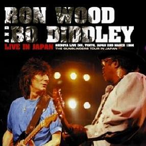 Ronnie Wood & Bo Diddley Live In Japan Non-Label