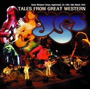 Yes Tales From Great Western Virtuoso Label