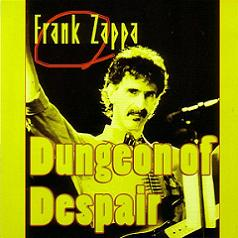 Frank Zappa Dungeon Of Despair Guitar Master Label