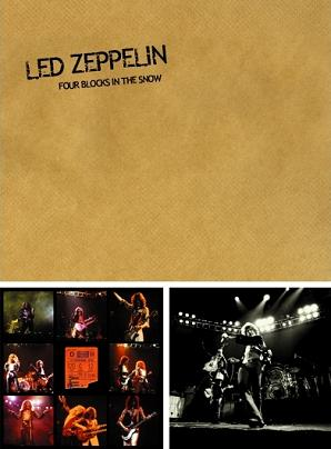 Led Zeppelin Four Blocks In The Snow TCOLZ Label