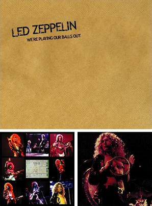 Led Zeppelin We're Playing Our Balls Out TCOLZ Label